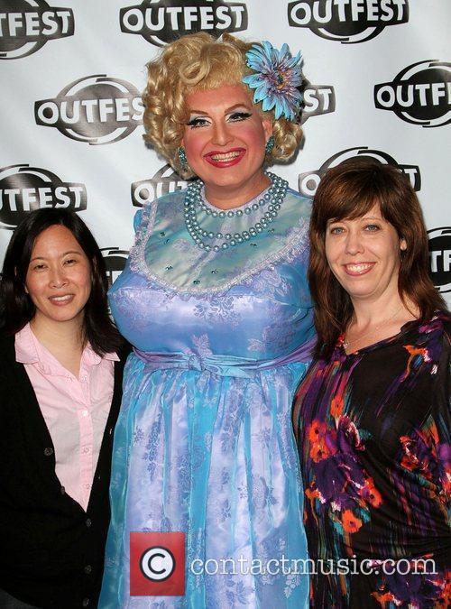 Kim Yutani, Momma and Kirsten Schaffer 28th Annual...