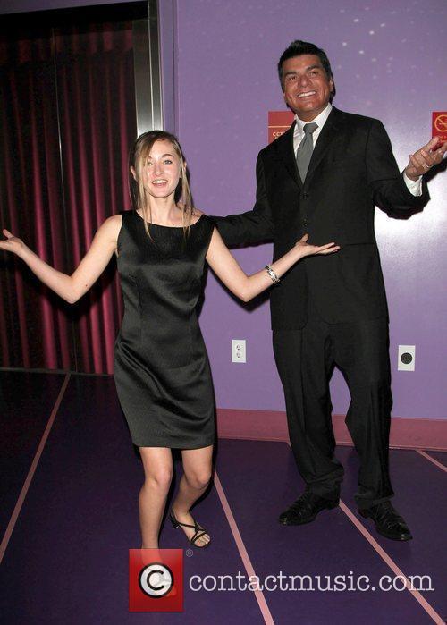 Rachel Fox and George Lopez 3