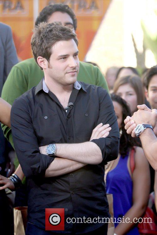 Ben Rappaport Cast of NBC's 'Outsourced' is interviewed...
