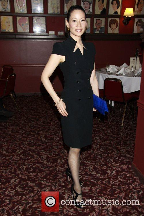 Lucy Liu  Outer Critics Circle Theatre Awards...