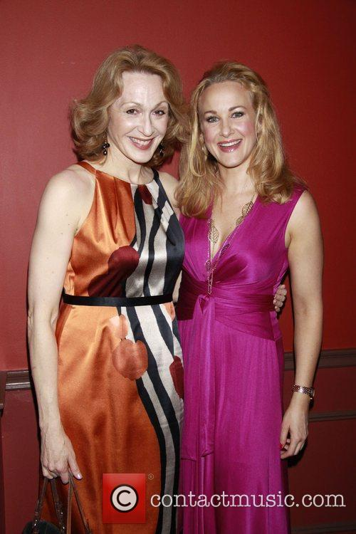 Jan Maxwell and Katie Finneran Outer Critics Circle...
