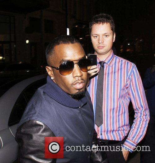 P Diddy (real name Sean Combs) makes his...