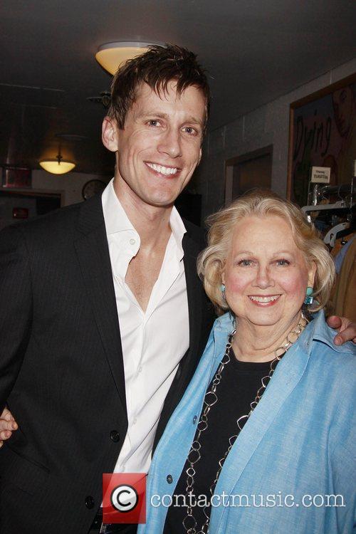 Andrew Samonsky and Barbara Cook  Closing night...