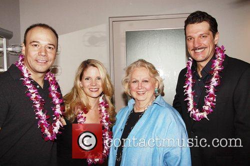 Danny Burstein, Kelli O'Hara, Barbara Cook and Paulo...