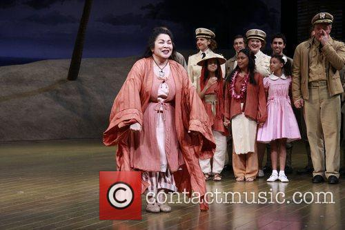 Loretta Ables Sayre and cast  Closing night...