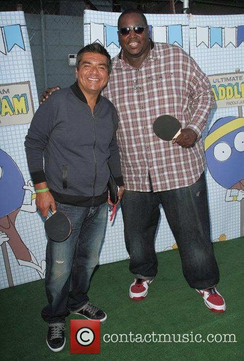 George Lopez, Henry Fonda, Quinton Aaron and The Music 5