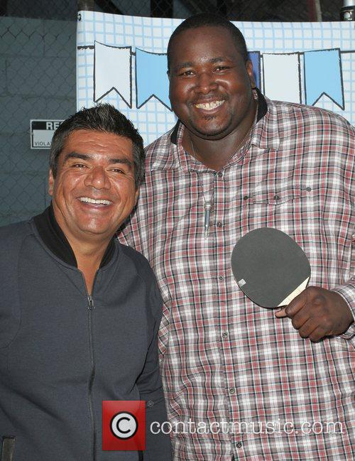 George Lopez, Henry Fonda, Quinton Aaron and The Music 8