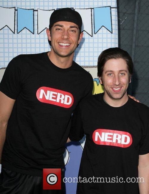 Zachary Levi and Simon Helberg The 2010 'Ultimate...