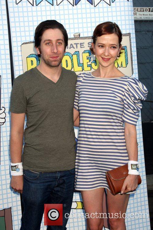 Simon Helberg and Jocelyn Towne  The 2010...