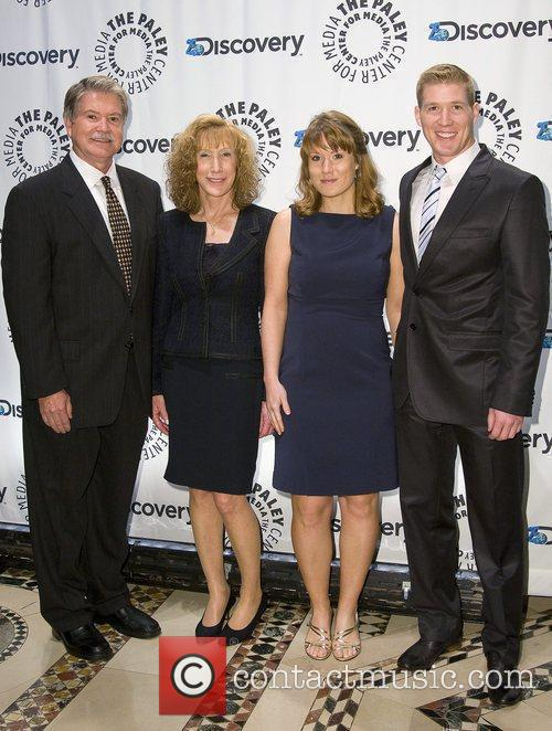 John Hendrix and his familly The Paley Center...