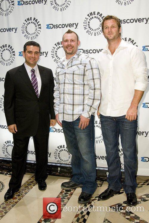 Paul Teutul Jr with Buddy Valastro and Dave...