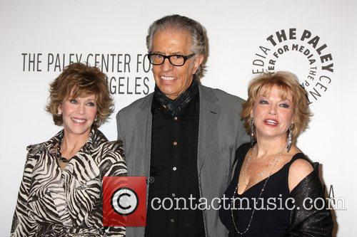 Jane Fonda, Al Michaels and Mary Hart 5