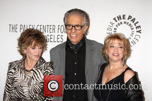 Jane Fonda, Al Michaels and Mary Hart 3