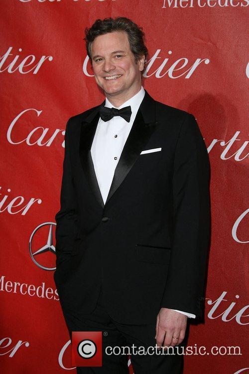 Colin Firth 2011 Palm Springs International Film Festival...