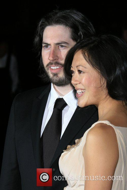 Jason Reitman and wife Michelle Lee 2010 Palm...