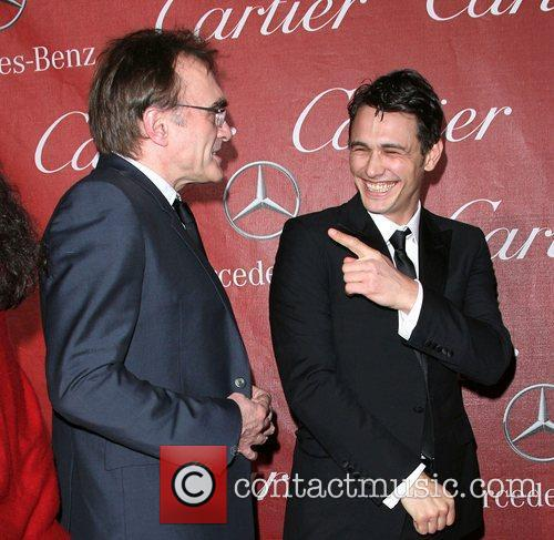 Danny Boyle and James Franco 3