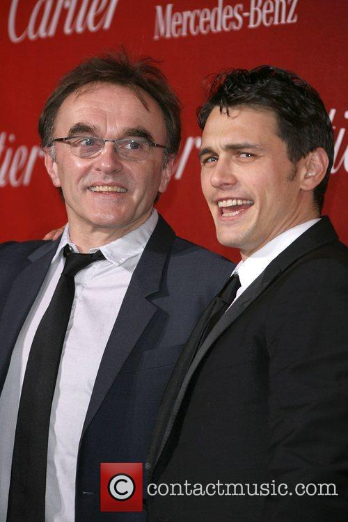 Danny Boyle and James Franco 1