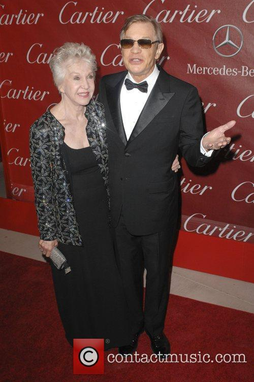 Michael York and Guest 2011 Palm Springs International...