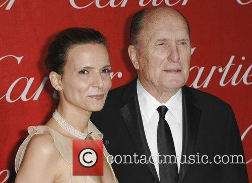 Robert Duvall and Guest 2011 Palm Springs International...