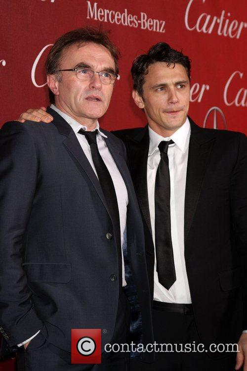 Danny Boyle and James Franco 9