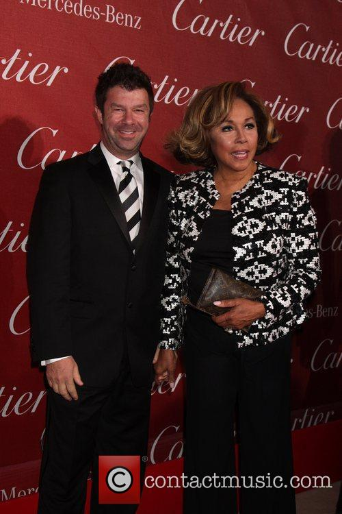 Diahann Carroll and Guest 2011 Palm Springs International...