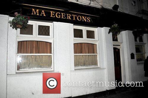 Atmosphere Ma Egertons pub Liverpool, England
