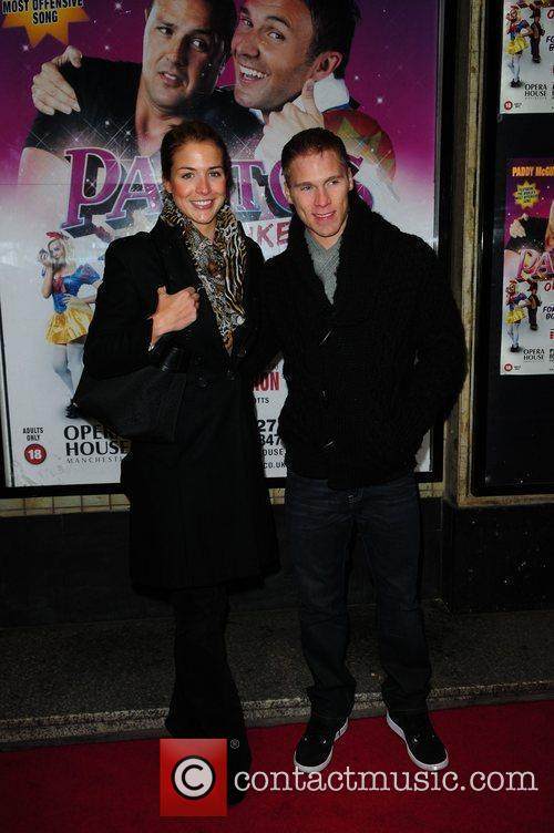 Gemma Atkinson, Guest 'Pantos on Strike' at the...