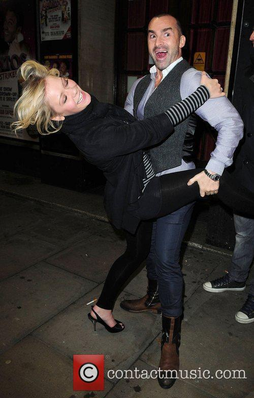 Louie Spence and Suzanne Shaw at the Opera...