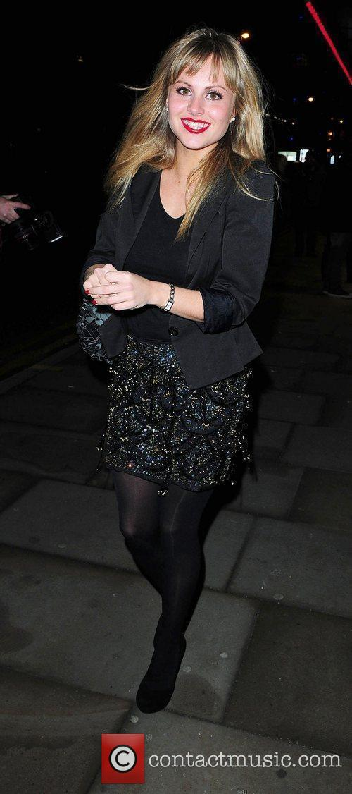 Tina O'Brien at the Opera House Manchester to...