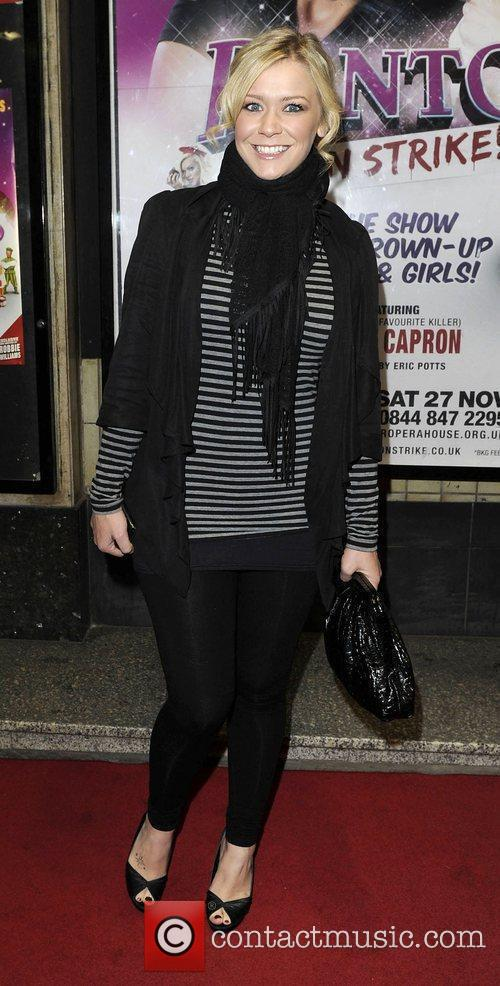 Suzanne Shaw at the Opera House Manchester to...