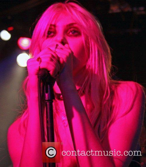 Taylor Momsen and band The Pretty Reckless perform...