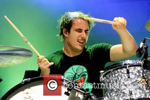 Zac Farro Paramore performing live in concert at...