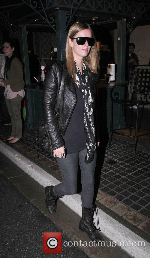Nicky Hilton at The Grove shopping mall in...