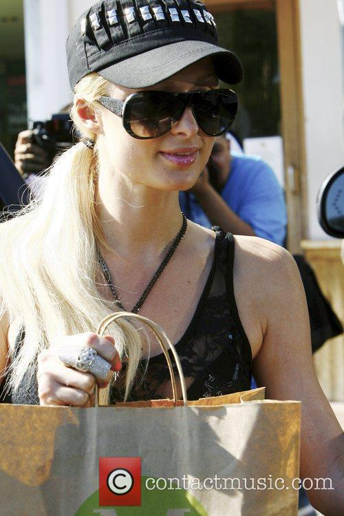 Paris Hilton was spotted shopping in Los Angeles