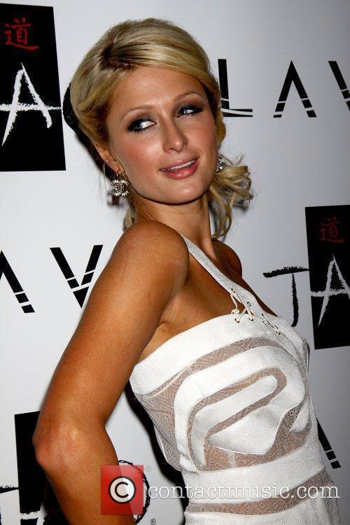 Paris Hilton celebrates her birthday at TAO Nightclub...