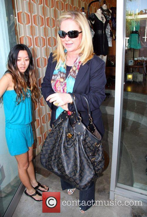 Kathy Hilton goes shopping on 3rd Street with...