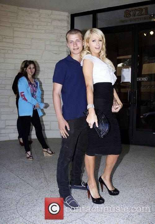 Paris Hilton, Her Brother and Barron Hilton 1