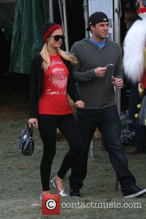 Paris Hilton and her boyfriend Doug Reinhardt...