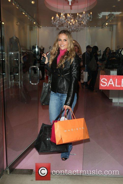 Brooke Mueller seen shopping on Robertson Boulevard