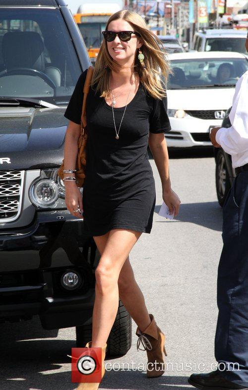 Nicky Hilton arriving at Toast in West Hollywood...