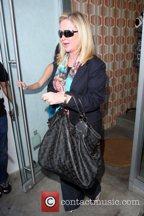 Kathy Hilton goes shopping on 3rd Street in...