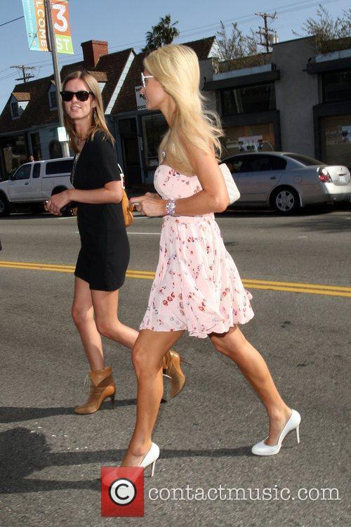 Nicky Hilton and Paris Hilton go shopping on...