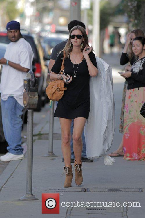 Nicky Hilton seen shopping on 3rd Street in...