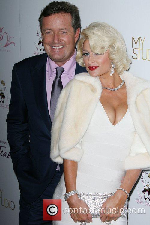 Piers Morgan and Paris Hilton 1