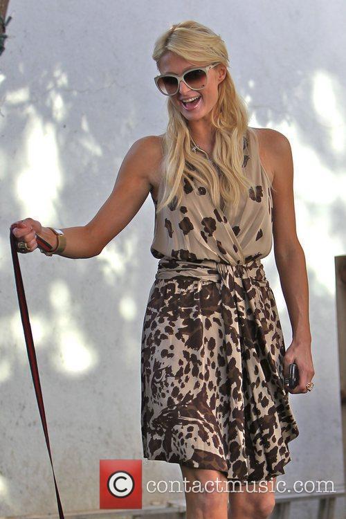 Paris Hilton at the back of Petro Zillia...