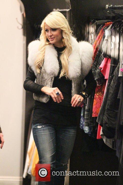 Paris Hilton, Bleu and Brooke Mueller 5