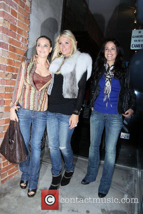Paris Hilton, Bleu and Brooke Mueller 3