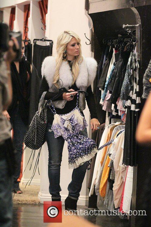 Paris Hilton, Bleu and Brooke Mueller 9