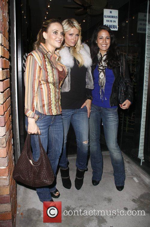 Brooke Mueller, Bleu and Paris Hilton 2
