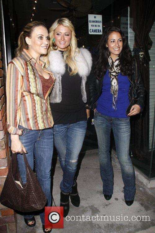 Brooke Mueller, Bleu and Paris Hilton 1